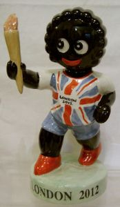 Artware Collectables Large Golly British Torch Bearer - SOLD